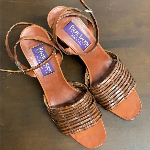 Vintage Ralph Lauren Collection Sandals